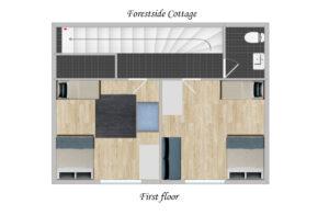 Forestside House Forestside-cottage-floorplan-first-floor-accomodation-labelled-300x196 Forestside cottage floorplan - first floor accomodation- labelled